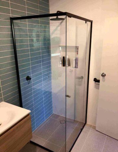 We replaced the shower screen in this Parkside client's home in Adelaide suburbs